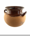 Mi Patria Brown Clay Pot S - Olla de Barro