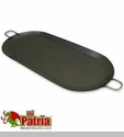"Steel Oval Cooking Pan ""Comal"""