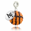 Air Force Falcons Crystal Drop Charm