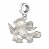 Air Force Falcons Natural Finish Dangle Charm