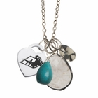 Akron Turquoise Drop Necklace