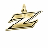Akron Zips 14KT Gold Charm