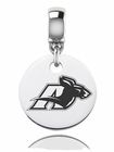 Akron Zips Round Dangle Charm
