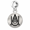 Alabama A&M Round Dangle Charm