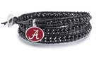 Alabama Black Wrap Bracelet