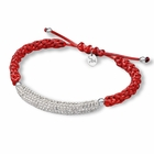 Alabama Crimson Tide Crystal Bar Bracelet