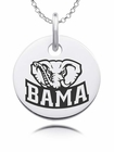 Alabama Crimson Tide Round Charm