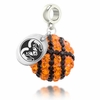 Colorado State Crystal Drop Charm