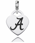 Alabama Engraved Heart Dangle Charm