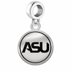 Alabama State Hornets Border Round Dangle Charm