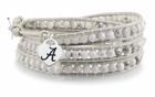Alabama White Wrap Bracelet