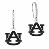 All Silver Logo Cutout Style Earrings