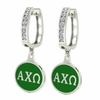 Alpha Chi Omega Hoop Earrings