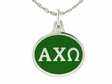 Alpha Chi Omega Silver Sorority Charm