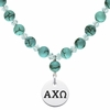 Alpha Chi Omega Turquoise Necklace