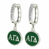 Alpha Gamma Delta Hoop Earrings