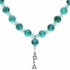 Alpha Gamma Delta Lavaliere Drop Necklace