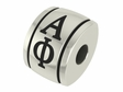 Alpha Phi Sorority Barrel Bead