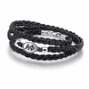Alpha Phi Sorority Leather Bracelet