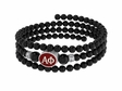 Alpha Phi Sorority Memory Wire Bracelet