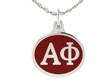 Alpha Phi Sterling Silver Sorority Charm