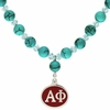 Alpha Phi Turquoise Drop Necklace