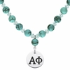 Alpha Phi Turquoise Necklace