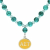 Alpha Sigma Tau Turquoise Drop Necklace