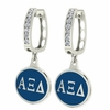 Alpha Xi Delta Hoop Earrings
