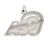 Angelo State Rams Natural Finish Charm