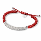 Arkansas Razorbacks Crystal Bar Bracelet