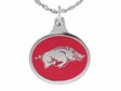 Arkansas Razorbacks Enamel Charm