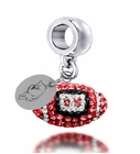 Arkansas Razorbacks Football Drop Charm