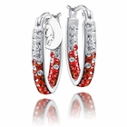 Arkansas Razorbacks Hoop Earrings