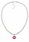 Arkansas Razorbacks Pearl Necklace
