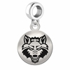 Arkansas State Round Dangle Charm