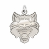 Arkansas State Red Wolves Natural Finish Charm
