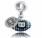 Auburn Tigers AU Crystal Drop Charm