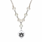 Auburn Tigers Heart Necklace
