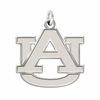 Auburn Tigers Natural Finish Charm