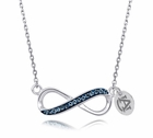 Auburn University Infinity Necklace