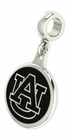 Auburn University Tigers Silver Dangle