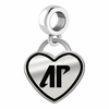 Austin Peay Governors Border Heart Dangle Charm