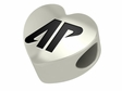 Austin Peay Governors  Heart Shape Bead