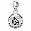 Ball State Cardinals Border Round Dangle Charm