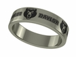 Baylor Bears Stainless Steel Ring