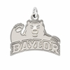 Baylor Bears Natural Finish Charm