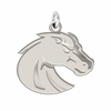 Boise State Broncos Natural Finish Charm