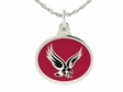 Boston College Eagles Silver Enamel Charm