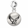 Boston College Round Dangle Charm
